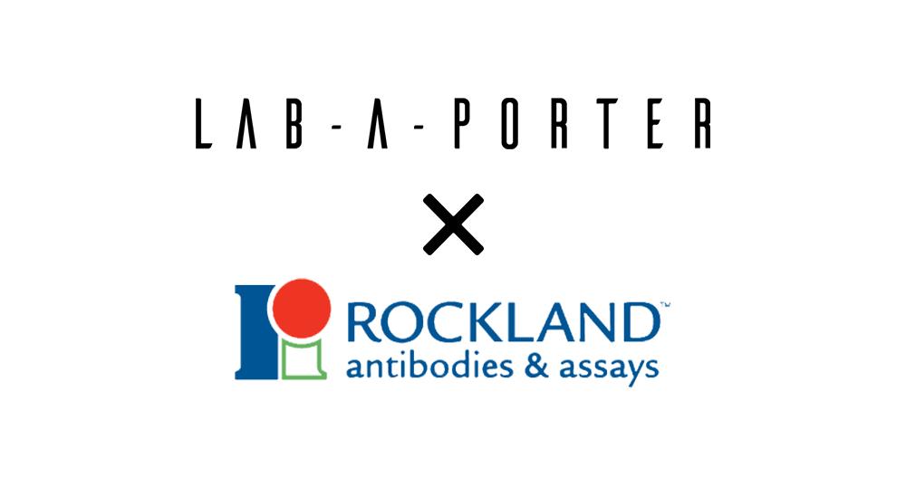 LAB-A-PORTER starts distributing Rockland Immunochemicals