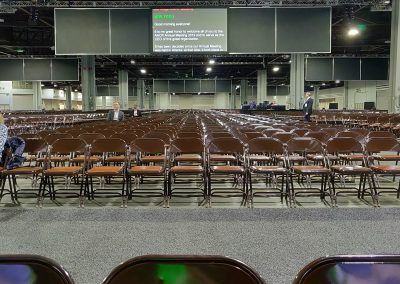 Such a huge venue