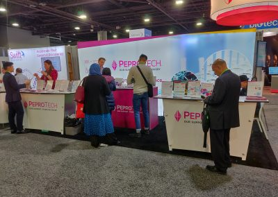 Nice chat with PeproTech friends!